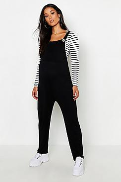 Maternity Jersey Lounge Dungarees