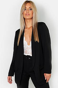 Se  Plus Tailored Blazer ved Boohoo.com