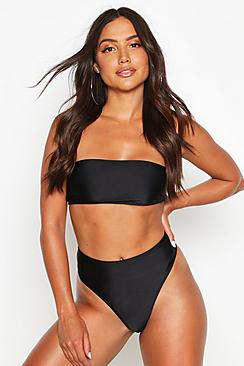 Essentials Mix and Match High Leg Bikini Brief