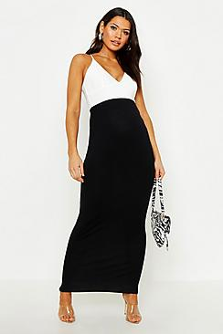 Maternity Over The Bump Maxi Skirt