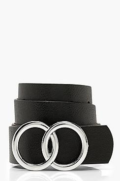 Double Buckle Boyfriend Belt