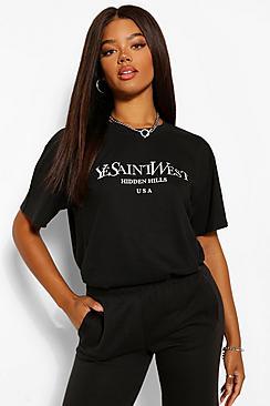 Ye Saint West Oversized T-Shirt