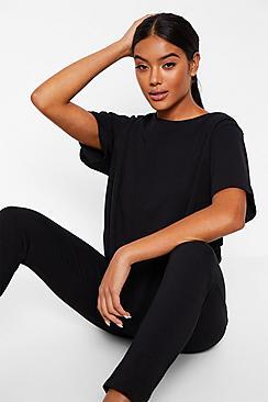 Basic T-shirt and Legging Soft Jersey PJ Set