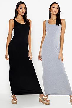 Tall Scoop Maxi Dress 2 Pack