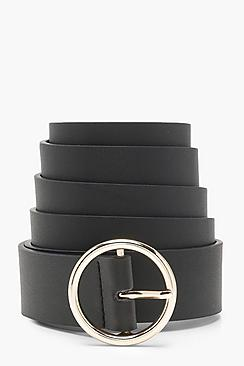 Plus Circle Ring Boyfriend Belt