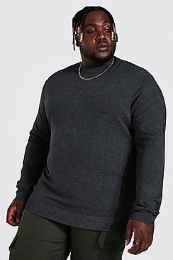 Plus Recycled Regular Fit Turtle Neck Jumper